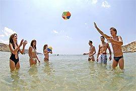 Malta-Strandspiele