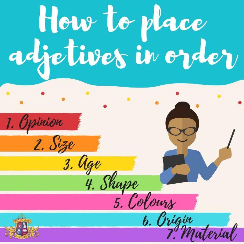 adjetives order